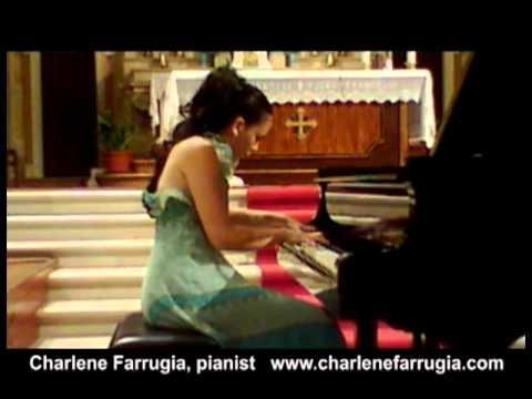 Charlene Farrugia pianist Liszt Ballade