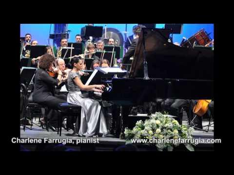 Charlene Farrugia pianist Rachmaninov Concerto 4