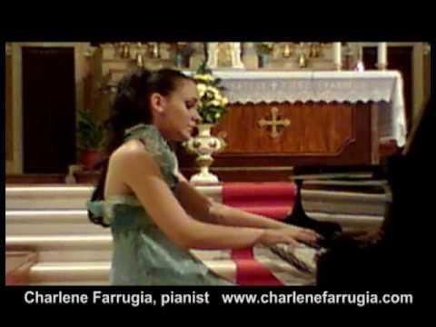 Charlene Farrugia pianist Saint-Saens Etude 1