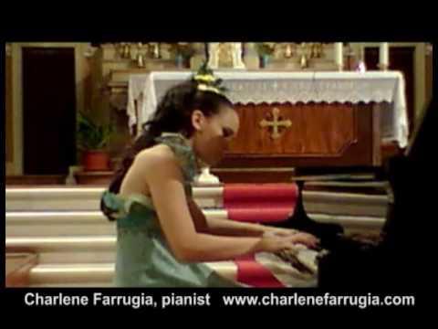 Charlene Farrugia pianist Saint-Saens Etude 6