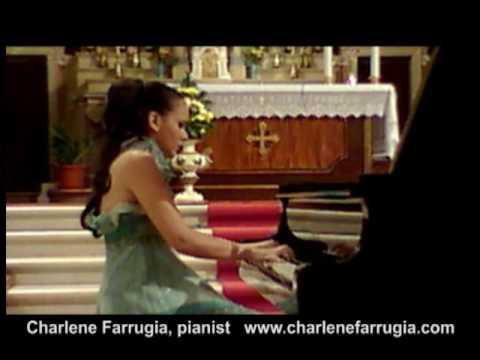 Charlene Farrugia pianist Prokofiev Sonata