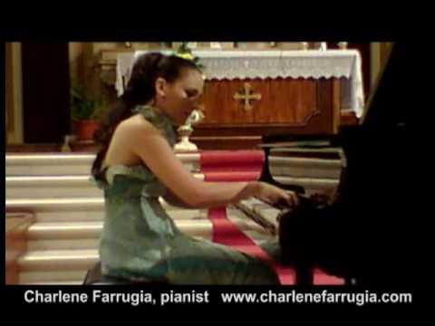 Charlene Farrugia pianist Ginastera Sonata