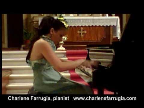 Charlene Farrugia pianist Ginastera Sonata 1
