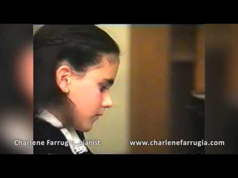 Charlene Farrugia pianist Moszkowski Etincelles