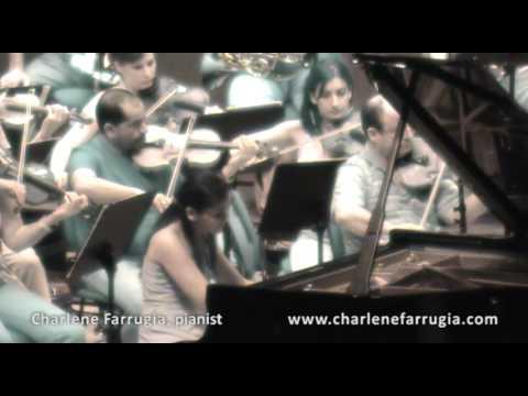Charlene Farrugia pianist Grieg Concerto