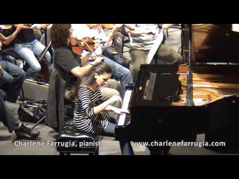 Charlene Farrugia pianist Chopin Concerto 2