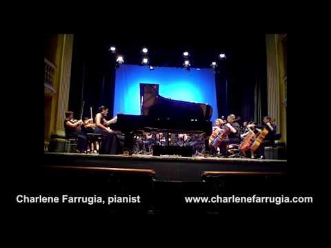 Charlene Farrugia pianist Ravel Concerto Left Hand